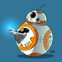 BB8 Middle Torch by ShadowMaginis