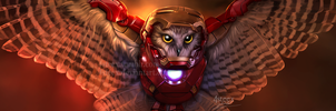 Iron owl returns by 4steex