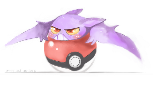 Clingy Crobat by EverlastingDerp