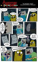 AT Short Fan Comic: Slender Man with Finn and Jake by DokiFanArt