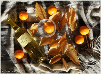 Autumn with citrus accents by AnnaZLove