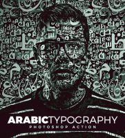 Arabic Typography Photoshop Action by hemalaya