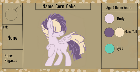 Corn Cake {Ref. Sheet + Bio} by ScarletsFeed
