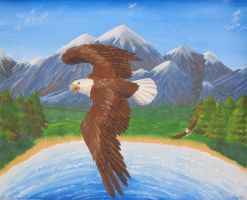 Soar on the Wings of Eagles by SabrinaJenema