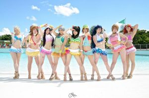 Love Live! Summer! by Chibi-Juice