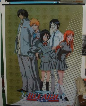 Bleach Wallscroll by Midorii-kiri