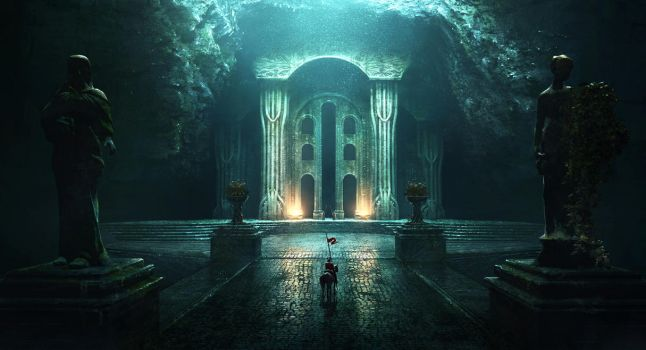 Nargothrond by jonathanguzi