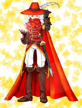 8-bit Theater - Red Mage by CelebrenIthil