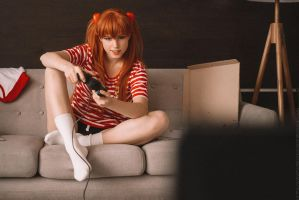 Geek Asuka by pollypwnz