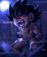 Goku transform by Mark-Clark-II