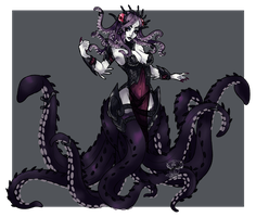 [ AT ] - Dark Cecaelia / Scylla - for UltraOof by FlareViper