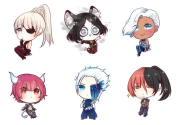 Blade and Soul chibi by Tsukizami