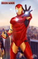The Invincible-IronMan by SaifuddinDayana