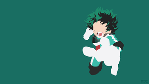 Boku no Hero Academia, Midoriya Izuku Wallpaper v2 by Rendracula
