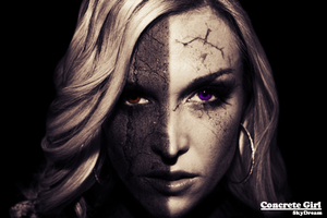 Concrete Girl Manipulation by SkyDreamGFX