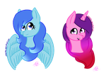 Misty and Bloom Headshots by ANNE14TCO