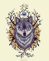 Wolf by agnes-green