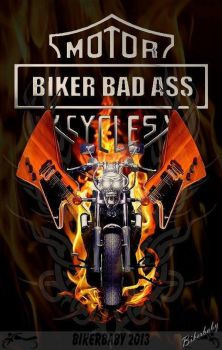Biker Bad Ass 10 by Razin-Cane