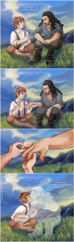 The Hobbit: An Unexpected Journey - The ring by maXKennedy