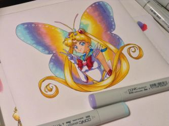 Super Sailor Moon copic by SailorGigi