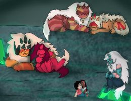 Leader of the Pack, SU AU Chapter 7 Part 3 by UmbraFoxPaws