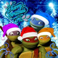 Tmnt christmas project calendar door6 by ladycreative on deviantart tmnt by donniefangirl25 merry christmas by michelleauroradaisy sciox Image collections