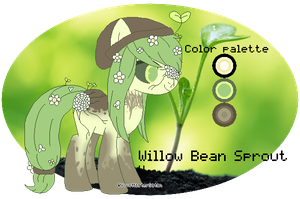Willow Bean Sprout by YourMasterSatan