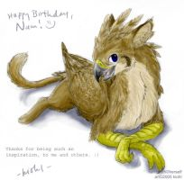 Namburd's birthday by kiohl