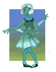 Amazonite (Fusion Commission) by ChocolateCake222