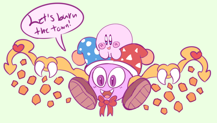 Marx And Kirby by Dog22322