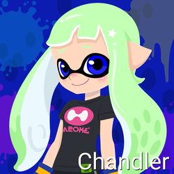 Chandler (14 Years Old, Inkling Form) by Brightsworth-Heroes