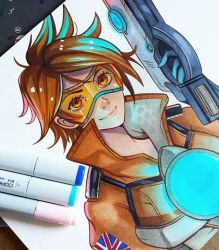 + Overwatch- Tracer+ by larienne