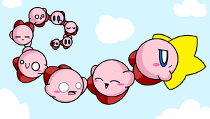 Kirbies by paokamon