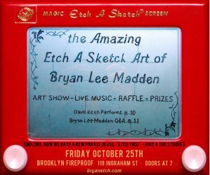 First Solo Art Exhibit Etch by bryanetch