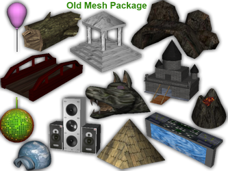 Old Meshes -Package Downloads- by Some-Art