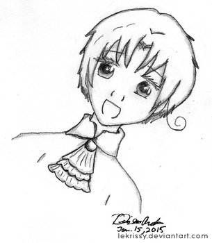 Young Italy Sketch by lekrissy