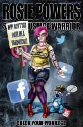 Rosie Powers - Social Justice Warrior by HotaruThodt