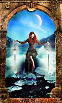 Two of Swords (Tarot) by N-arteest