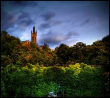 Glasgow University II by MyAssIsOnFire