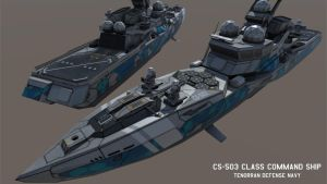 CS-503 Class Command Ship by Helge129