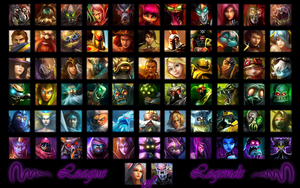 Mosaic of Legends by K4tEe