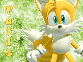 Tails Wallpaper by NoNamepje