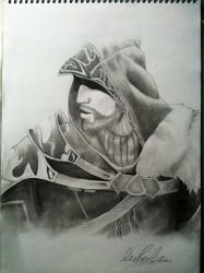 'Old and Crusty' Ezio by Boredomdoodler