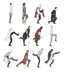 Silly Walks by doubleleaf