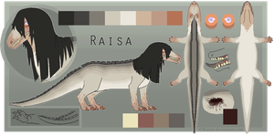 Official Raisa reference sheet by Roneri