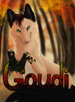 Badge commission: Goudi by AnastasiyaVB