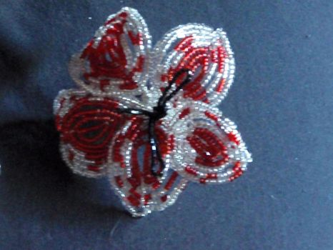 Canada Day flower clip 3 by MissCreepers