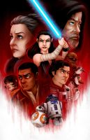 The Last Jedi by msciuto