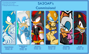 Commissions are open! by SA2OAP