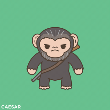 Caesar Apes together Strong  by Baloorule58